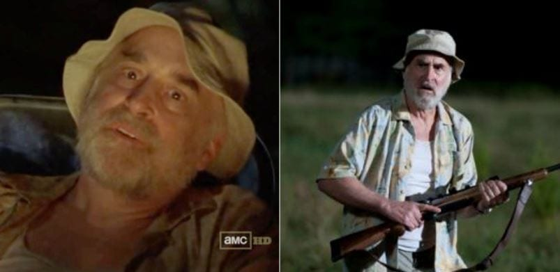 The Walking Dead' Characters in Their First Season vs  Their