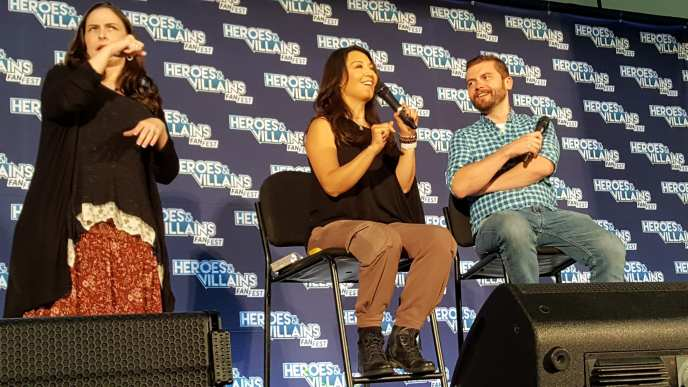 Heroes and Villains Fan Fest, Ming-Na Wen, Agents of Shield