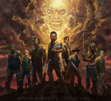 The Walking Dead, Nolan N. Nasser