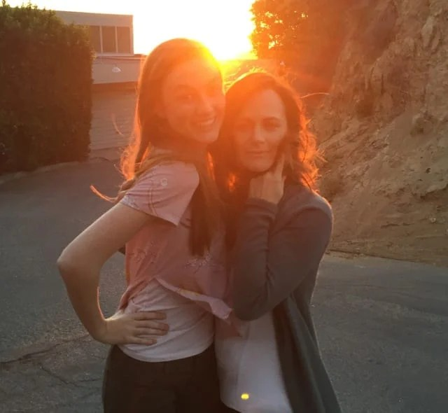 Behind the scenes with Madison Lintz and Sarah Clarke on the set at the Bosch house during Bosch season 3
