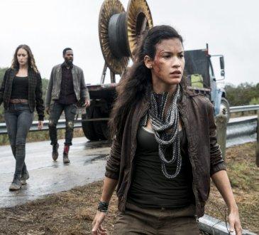 Danay Garcia as Luciana, Alycia Debnam-Carey as Alicia Clark, Colman Domingo as Victor Strand - Fear the Walking Dead _ Season 4, Episode 3 -