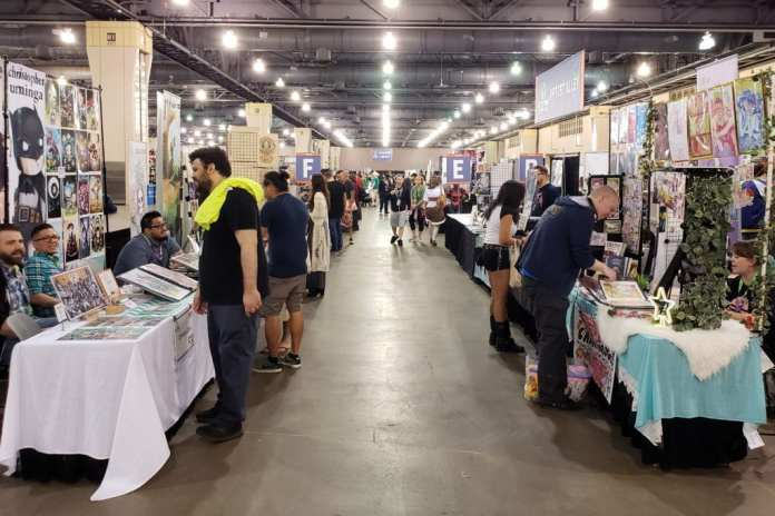 Keystone Comic Con, Artist Alley