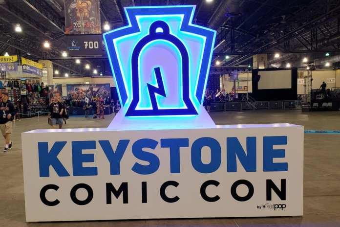 Keystone Comic Con Sign