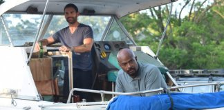 """LETHAL WEAPON: L-R: Seann William Scott and Damon Wayans in the """"In The Same Boat"""" season premiere episode of LETHAL WEAPON airing Tuesday, September 25 (9:00-10:00 PM ET/PT) on FOX. ©2018 Fox Broadcasting Co."""