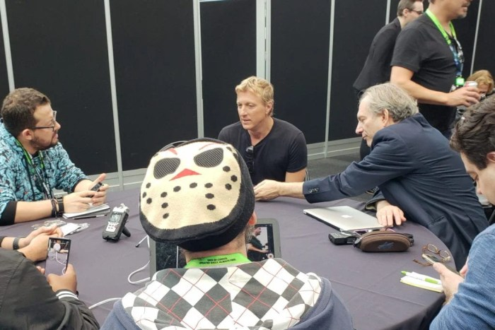 Cobra Kai, William Zabka, New York Comic Con