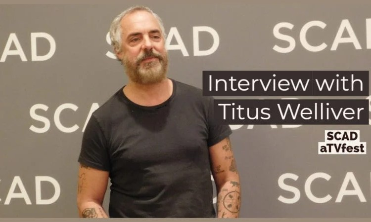 Actor Titus Welliver at SCAD aTVfest 2019 photo credit: Tracey Phillipps