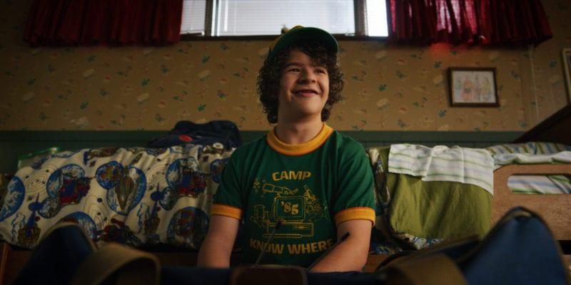 Gaten Matarazzo in Stranger Things 3 Photo credit: Netflix