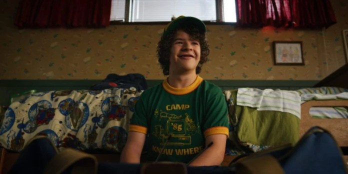 Gaten Matarazzo in Stranger Things 3 Photo credit: Netflix