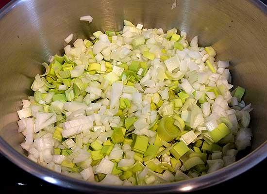 guiso de verduras, fanfood web, ingredientes