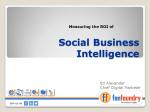 Social BI cover