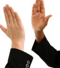 Why blogging works - highfive for reciprocity