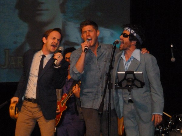 Richard, Jensen and Rob at VegasCon