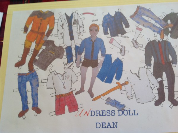 UN-dress Dean? Yes please!