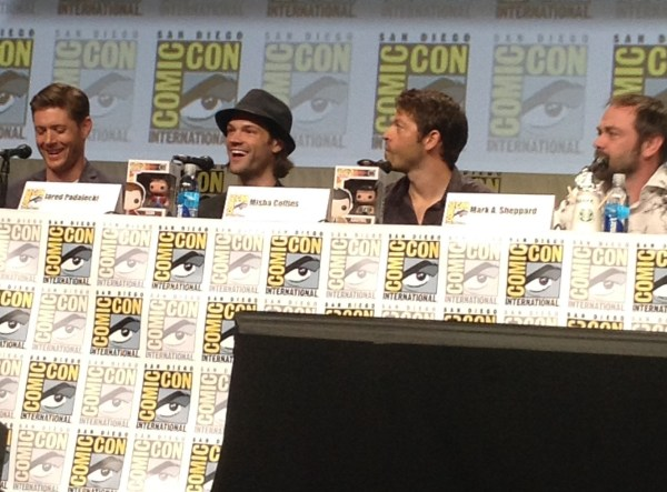 The very attractive Supernatural cast