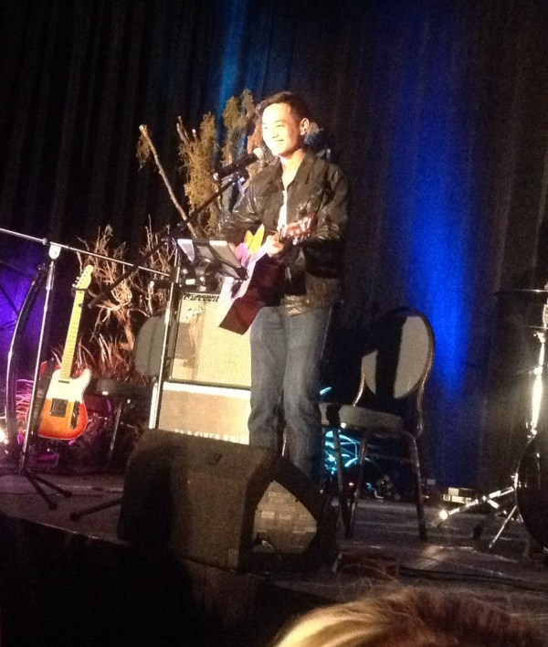 Osric was so nervous - adorable!