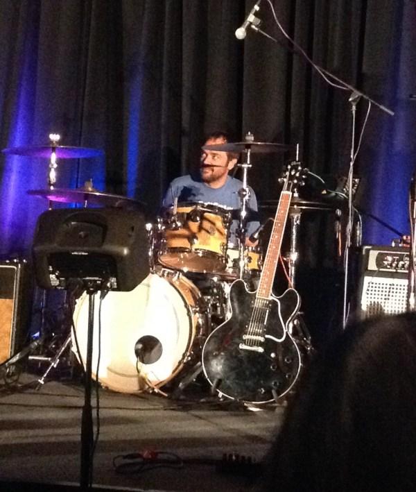 Drummer Mark Sheppard