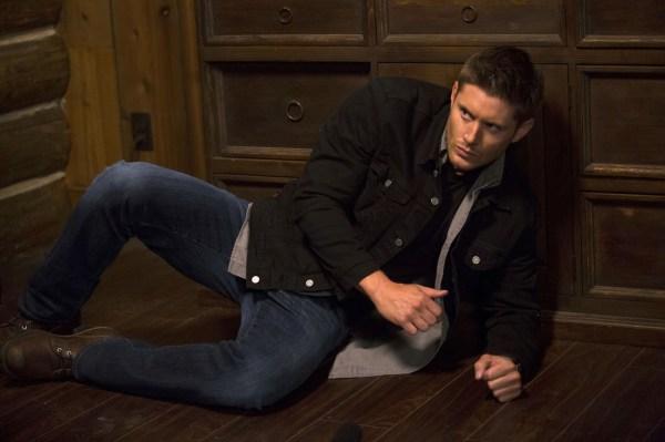 Dean down! Sam to the rescue!
