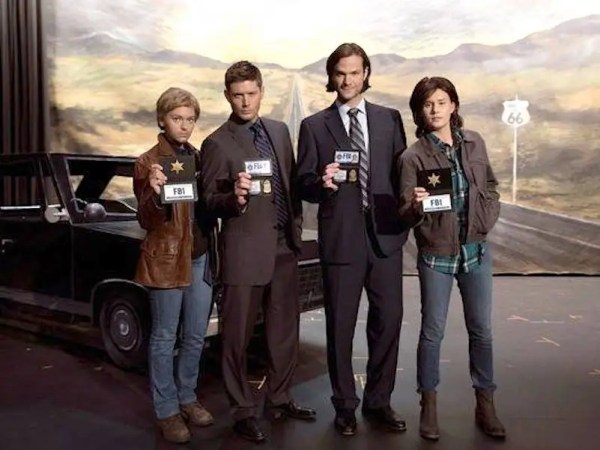 Sam and Dean with... Sam and Dean
