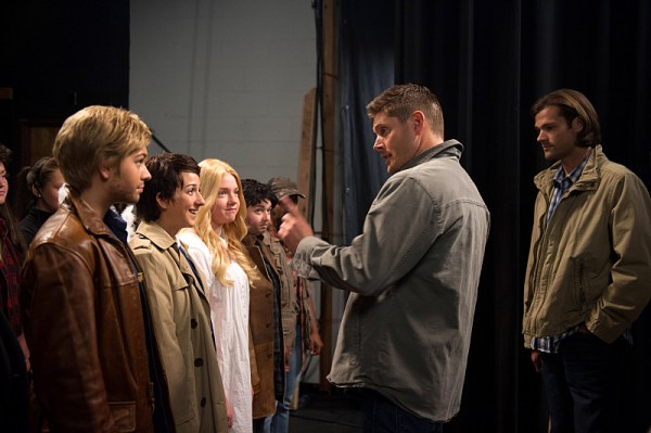 Dean rallies the troops