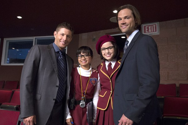 Jensen and Jared with Joy and Katie