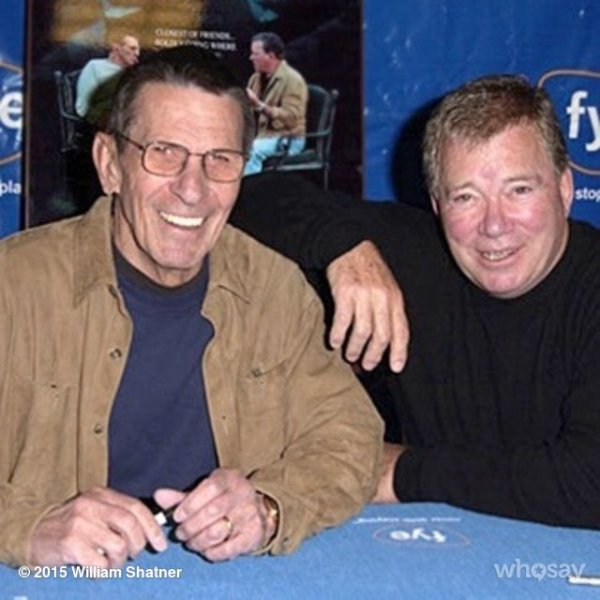 nimoy shatner post on day