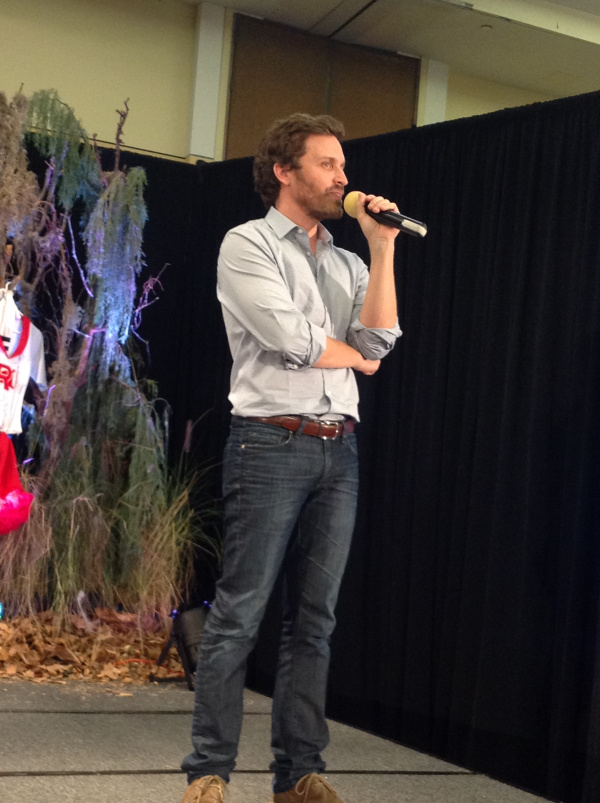 Rob tells fans about his stroke (BurCon 13)