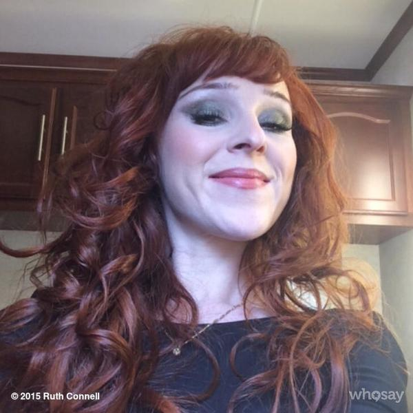 @ruthieconnell and her awesome Rowena makeup