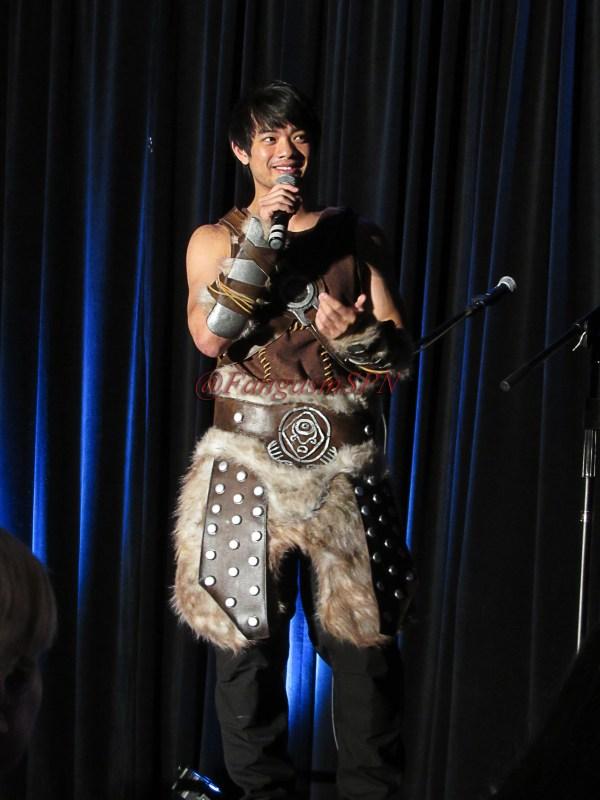 Osric cosplays The Warrior