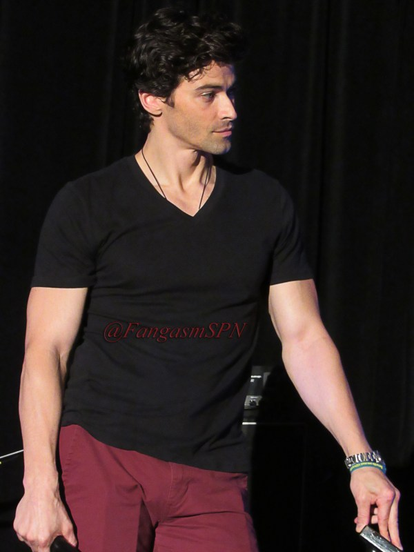 Matt Cohen with the hair and the abs and the tush