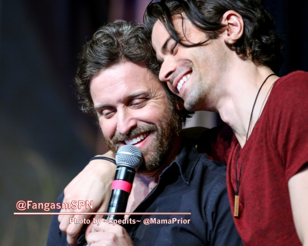 Rob Benedict and Matt Cohen