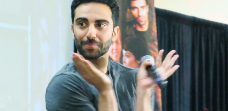 A Chat With Lee Majdoub – on Dirk Gently and Supernatural!