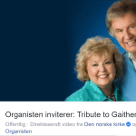 Organisten inviterer: Tribute  to Gaither
