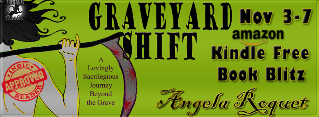 New Release: Graveyard Shift by Angela Roquet