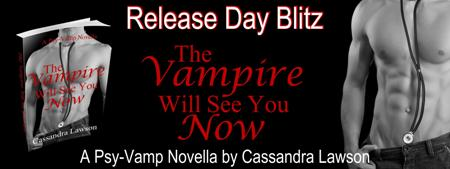 Review: The Vampire Will See You Now by Cassandra Lawson