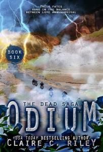 Odium VI by Claire C. Riley will be here Soon!