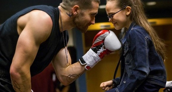 southpaw movie jake gyllenhaal and oona laurence