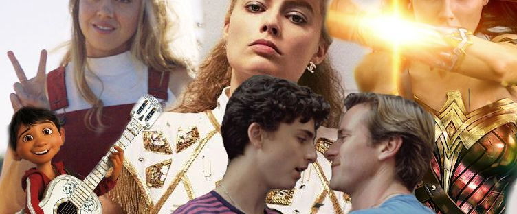 best movies and performances 2017 call me by your name wonder woman coco i tonya