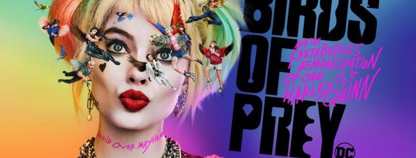 birds of prey harley quinn movie poster