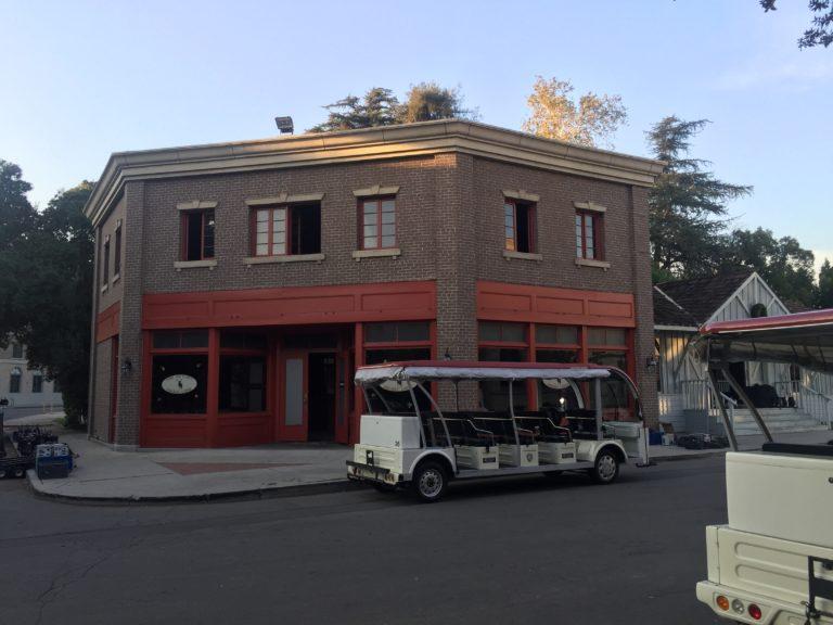 Mia's coffee shop on the WB Studio Lot la la land