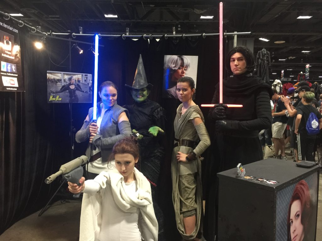 star wars cosplay at awesome con in washington, dc