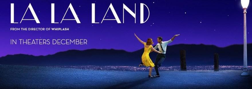 la la land movie poster emma stone and ryan gosling dancing