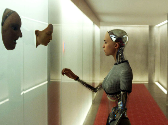 Alicia Vikander as Ava the robot in Ex-Machina