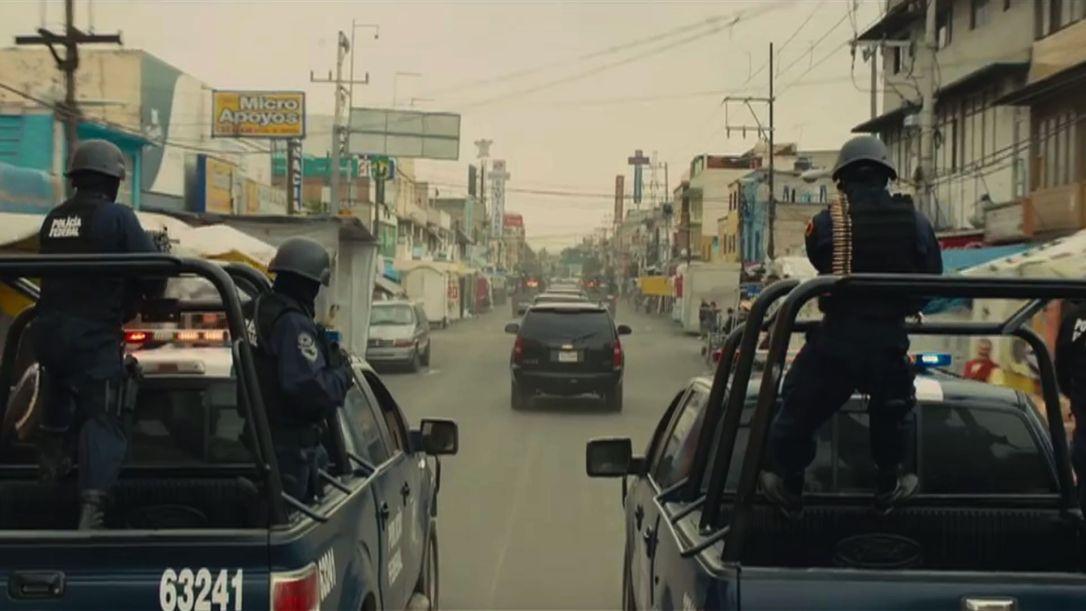 Mexican Federal Police in Juarez in Sicario