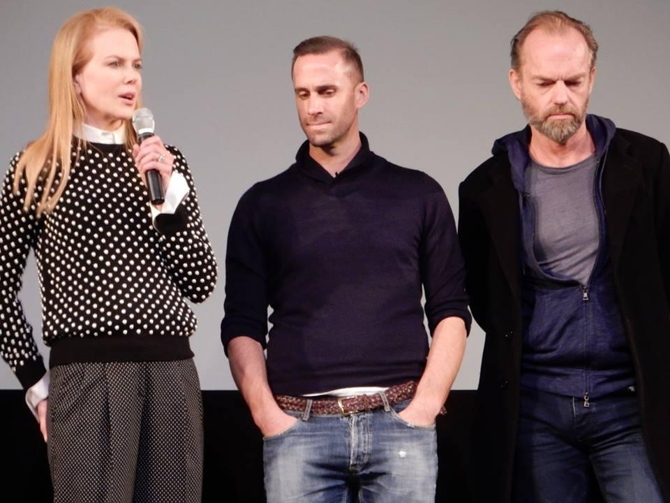 Joseph Fiennes, Nicole Kidman, and Hugo Weaving at Sundance 2015 for Strangerland