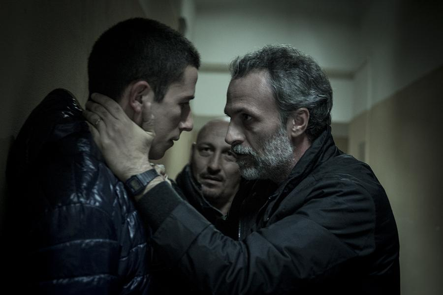 Black Souls movie still of father speaking to son