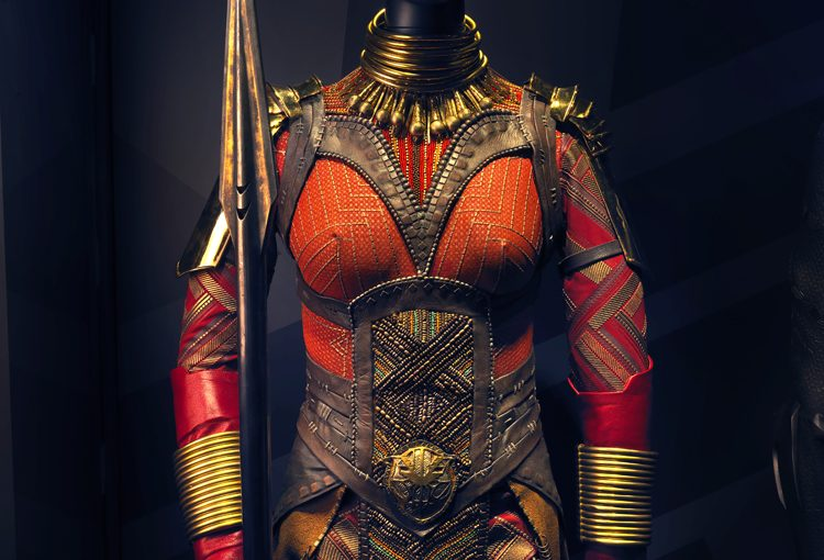 """Dora Milaje costume from """"Black Panther"""""""