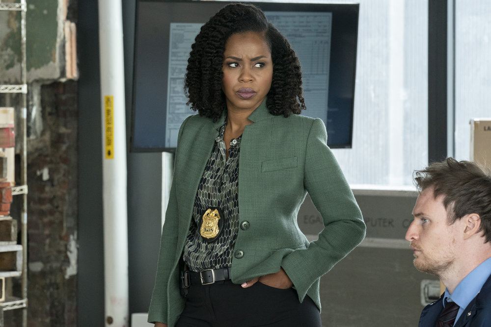"""LAW & ORDER: SPECIAL VICTIMS UNIT -- """"I Thought You Were on My Side"""" Episode 23002 -- Pictured: Danielle Moné Truitt as Sgt. Ayanna Bell -- (Photo by: Virginia Sherwood/NBC)"""