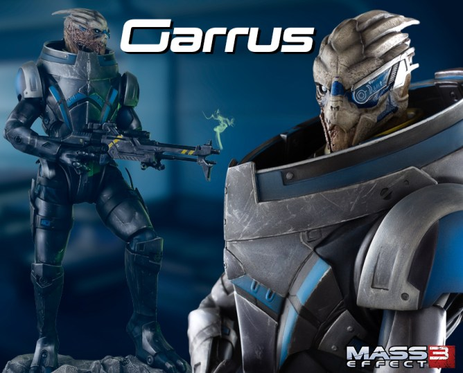 Garrus statue by Gaming Heads 1