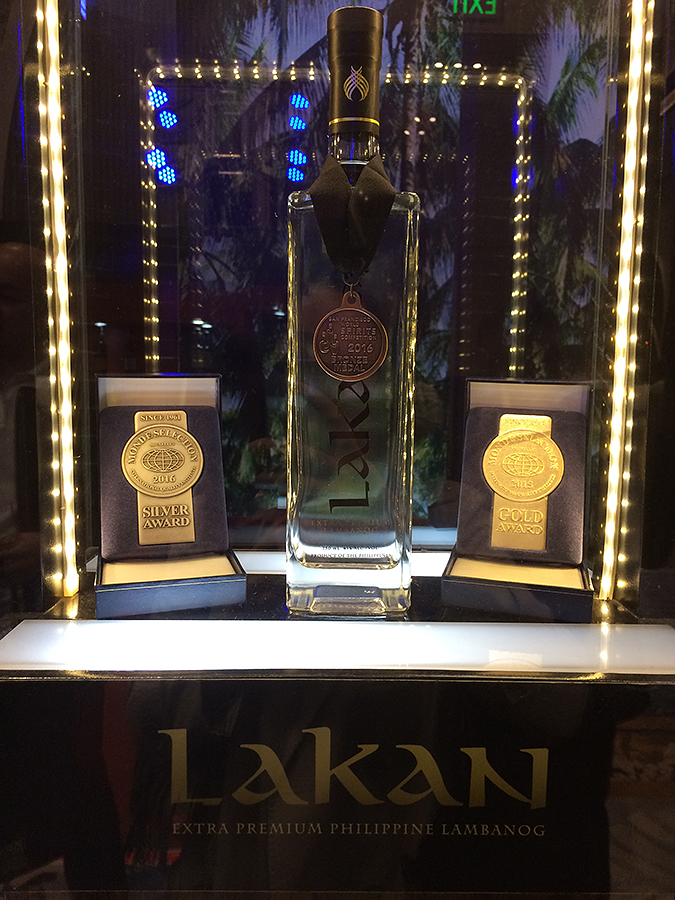whisky live manila 2016 lakan display