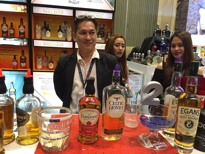 whisky live manila 2016 teeling booth